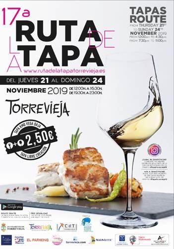 CARTEL RUTA DE LA TAPA 2019